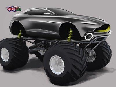 El Aston Martin Project Sparta es una inocentada, pero no deja de ser el aperitivo de un futuro SUV