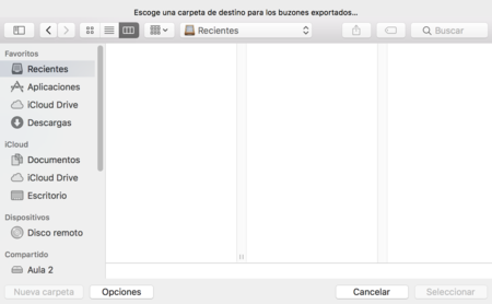 Mail Mac Exportar Buzon 2