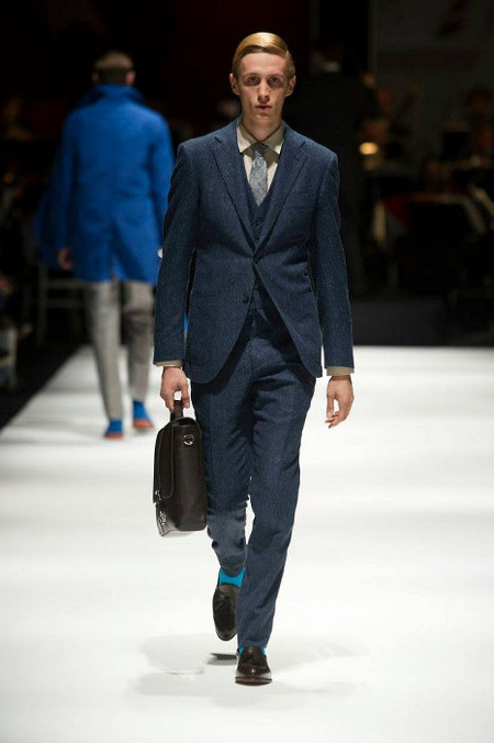 Hackett London SS 14  blue suit