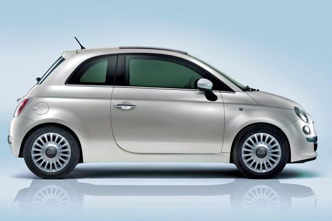 FIAT 500 lateral