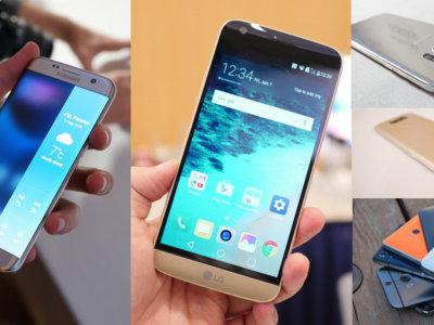 Así queda la gama alta Android, ¿qué nos ofrecen los nuevos LG G5, Samsung Galaxy S7 y Sony Xperia X Perfomance?
