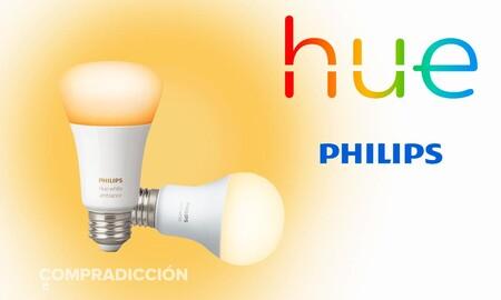 Ofertas en sets de iluminación LED inteligente Philips Hue en Amazon: a todas luces los mejores precios