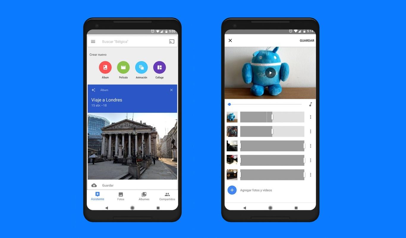 Image of: Como Crear Peliculas Y Montajes Con El Nuevo Editor De Video De Google Fotos Para Android