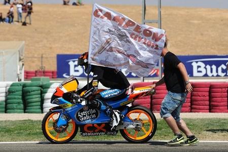 Álex Márquez campeón de Moto3 CEV 2012