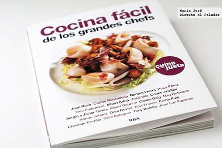 Cocina fácil de los grandes chefs. Libro de recetas