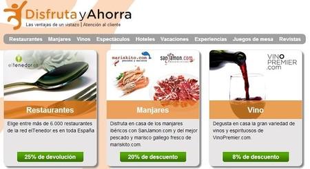 DisfrutayAhorra, una app que ofrece descuentos en reservas de hoteles y restaurantes