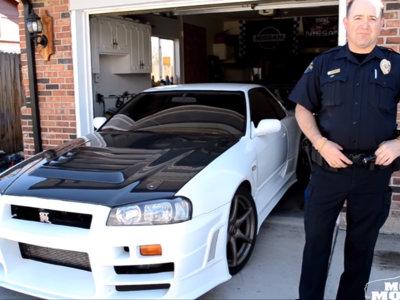 Este policía de Denver conduce un Nissan Skyline GT-R