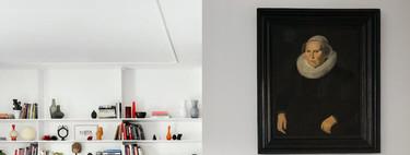 Un piso en Roma con esencia vintage y en un entorno minimalista y contemporánea