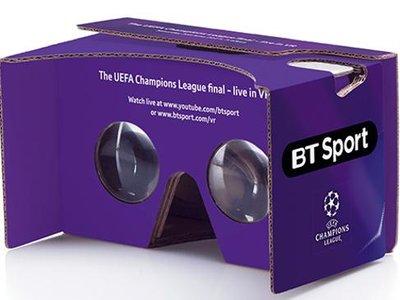 Si eres futbolero todavía estás a tiempo, BT emitirá la final de la Champions League en 360° VR y 4K UHD Dolby Atmos