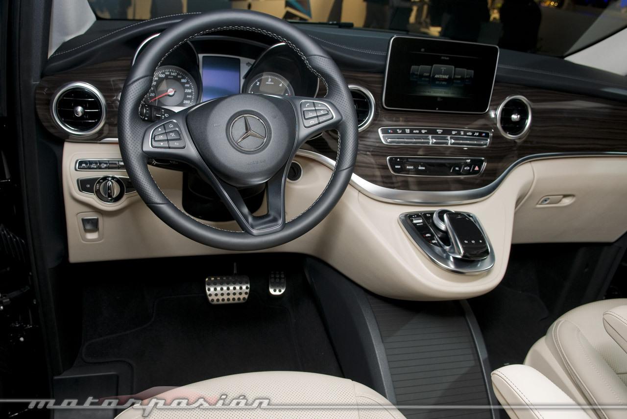 Foto de Mercedes-Benz Clase V (presentación) (40/40)
