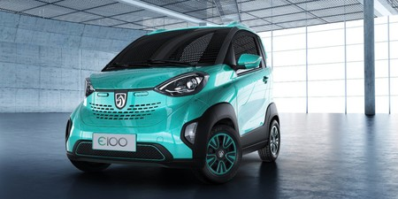coche eléctrico chino Baojun E100 4