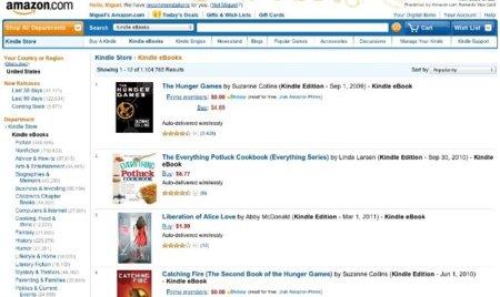 Amazon.es abrirá su tienda de libros electrónicos en España este jueves 1 de diciembre