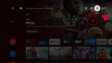 Borrar Android Tv 1