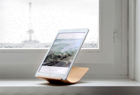 Yohann, el dock para iPad Air 2 hecho de madera