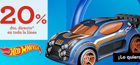 20% de descuento en Hot Wheels hasta 23 de abril en Toys 'r us