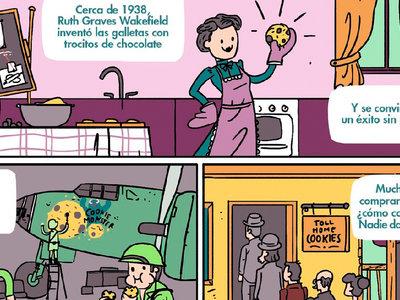 La historia de Ruth Wakefield, la mujer que vendió la exitosísima receta de las cookies por un dólar