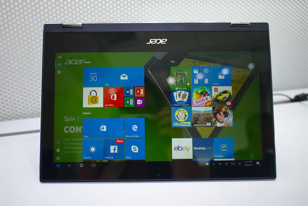 Acer Spin 1 Pantalla