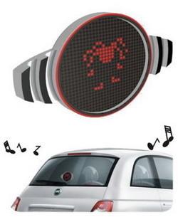Fiat 500 Xpress: muestra iconos a otros conductores