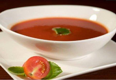 Sopa de tomate para niños