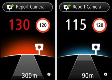 TomTom Radares de tráfico para iPhone