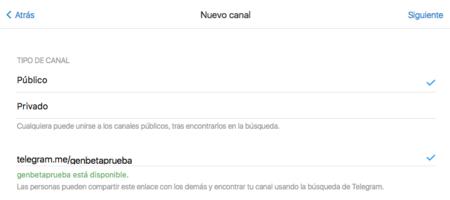 Canal Telegram Publico