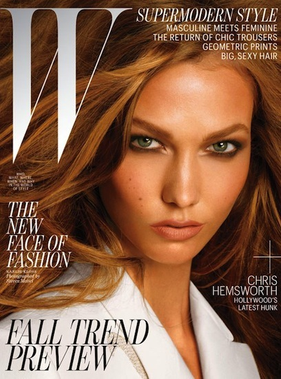 Karlie Kloss y Joan Smalls protagonizan dos portadas de W Magazine