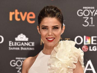 Imponente y perfecta, Juana Acosta una de las más elegantes de los Premios Goya 2017