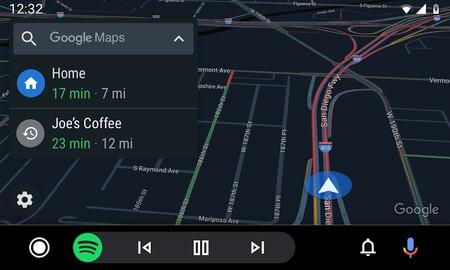 Google Maps Android Auto