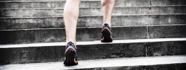 Entrena todo tu cuerpo donde te encuentres, usando sólo una escalera