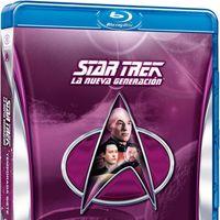 La última temporada, en Blu-Ray, de Star Trek: La Nueva Generación por 15,90 euros