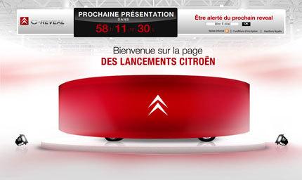 Citroën presentará un nuevo modelo el día 2