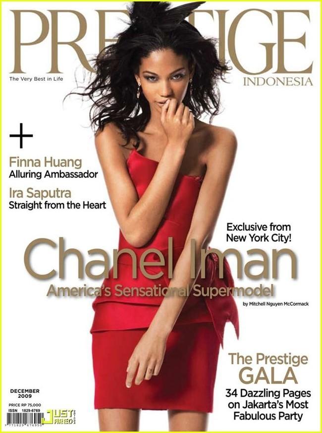 Foto de Chanel Iman en la revista Prestige (1/10)