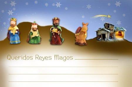 Carta para los Reyes Magos exclusiva de Bebés y más (Navidad'10)