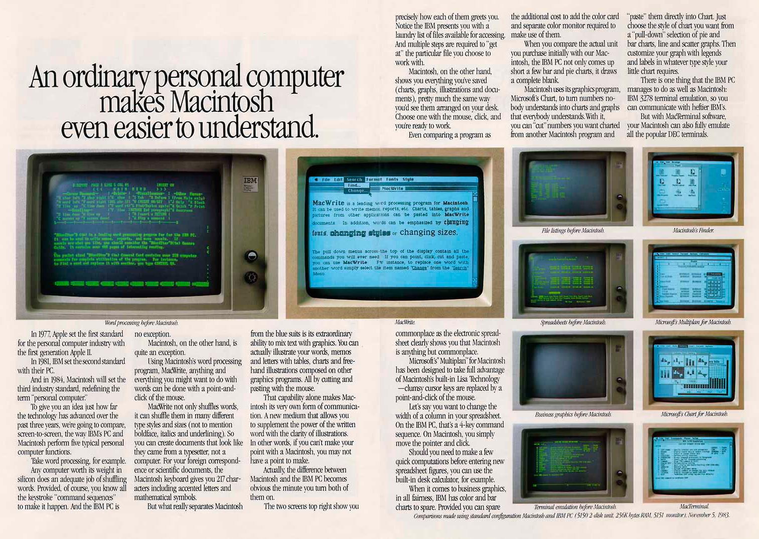 Foto de Presentación del Macintosh en Newsweek (7/11)