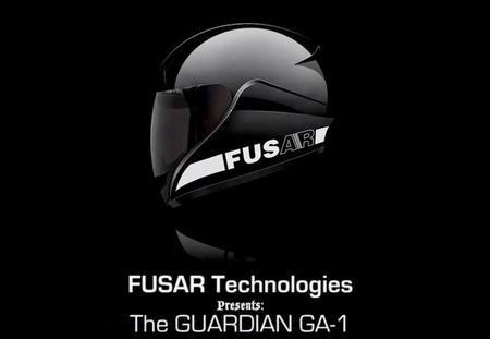 Control integral bajo el casco de moto Guardian GA-1