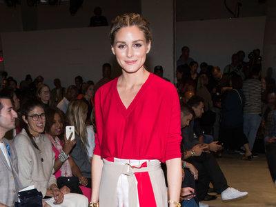 Lookazo de Olivia Palermo en Nueva York con ¡dos faldas a la vez!