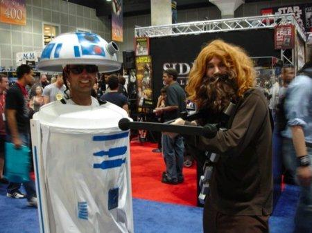 Disfraces para Halloween: R2-D2 para el peque