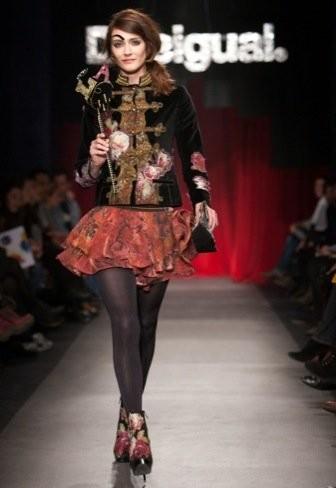 Desigual colabora con Christian Lacroix en la colección Otoño-Invierno 2011/2012