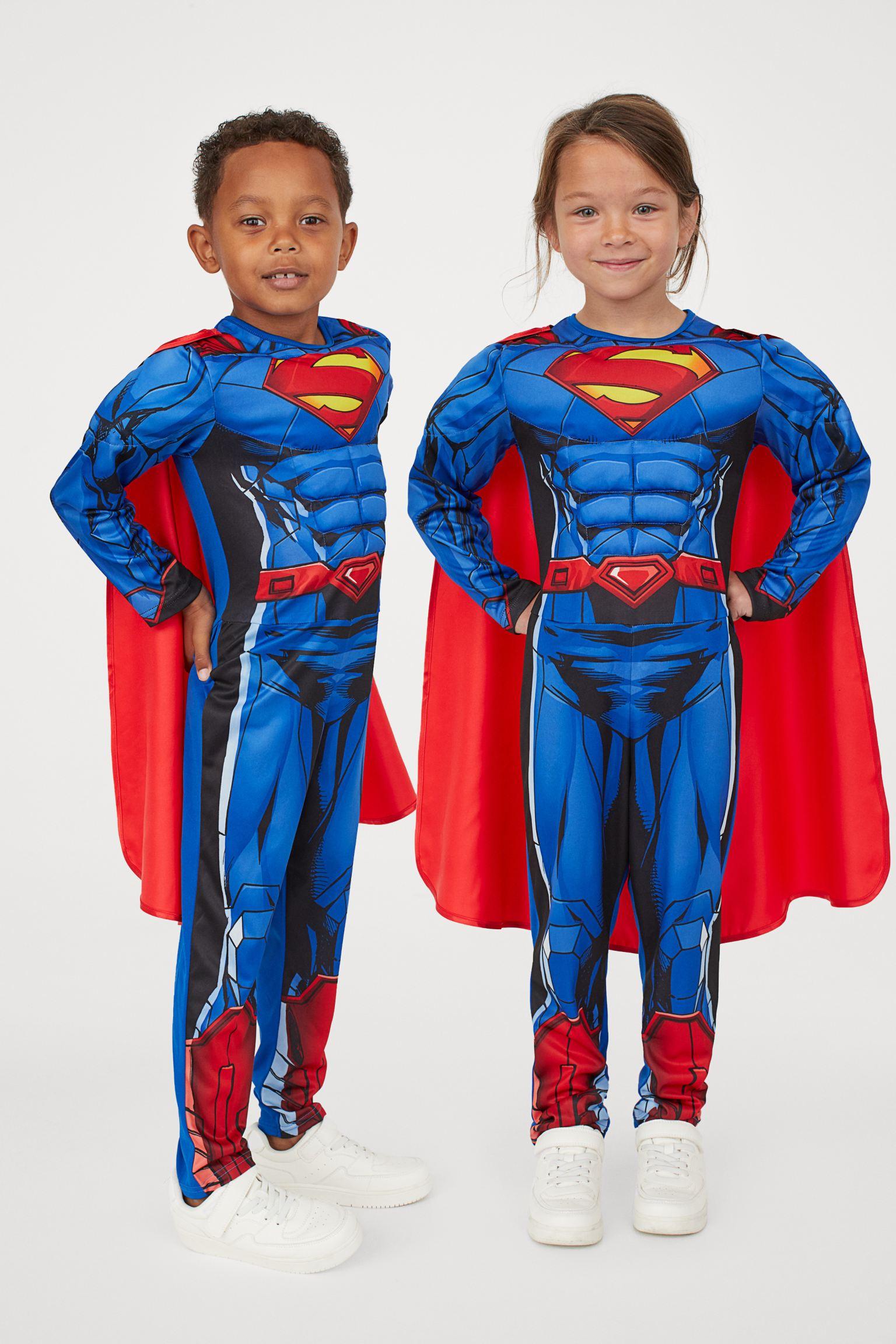 Disfraz de punto de Superman