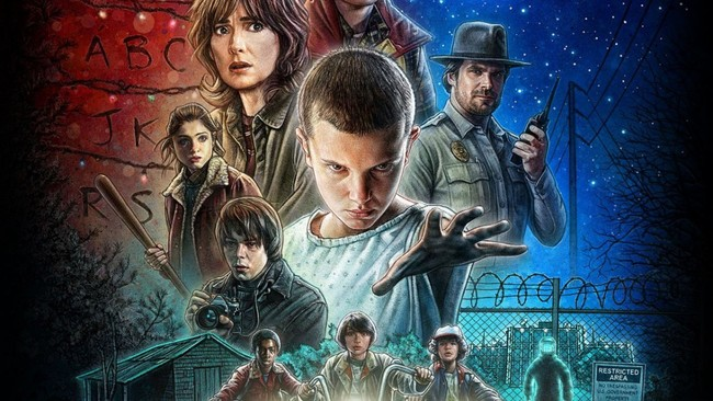 Stranger Things Retro
