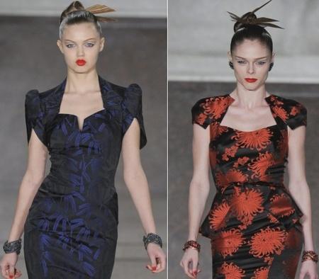 Zac Posen presenta a una mujer glamourosa en su colección Otoño-Invierno 2012/2013