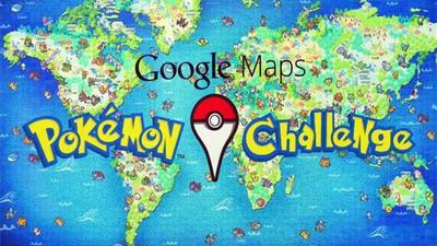 Sé un Pokémon Master con Google Maps desde tu Android