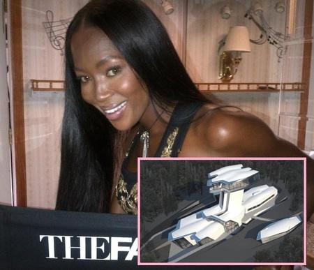 Las Casas de los Famosos: El nuevo casoplón futurista de Naomi Campbell