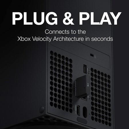Tarjeta de expansión SSD Seagate 1TB con descuento para Xbox Series en Amazon México