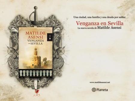 Matilde Asensi regresa con 'Venganza en Sevilla'