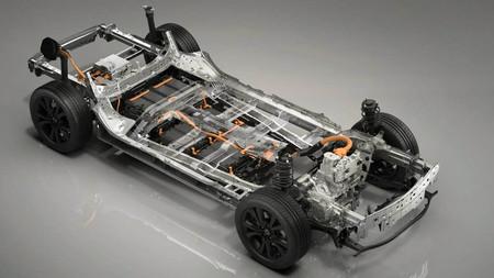 Plataforma del futuro coche eléctrico de Mazda