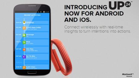 La pulsera Jawbone Up24 ya es compatible con Android
