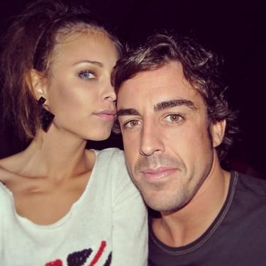 Pero qué tierna es Dasha Kapustina, ¿verdad Fernando Alonso?