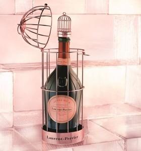 Cuvée Rosé Laurent-Perrier, enjaulado
