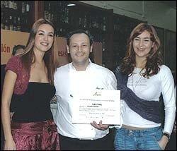 Jesús Almagro ganador del X Campeonato de Cocineros
